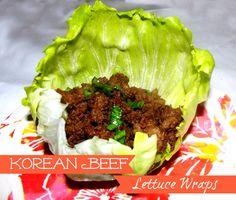 Korean Beef Lettuce Wraps