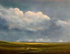 """Original Oil 12 X 16 Landscape Painting  Title: """"Passage"""""""