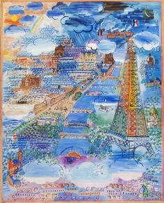 Raoul Dufy / Paris, 1934. French painter and designer noted for his brightly coloured and highly decorative scenes of luxury and pleasure.