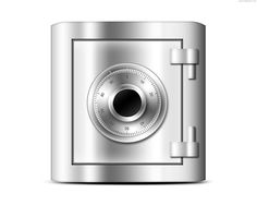 Safe icon (PSD)   PSDGraphics