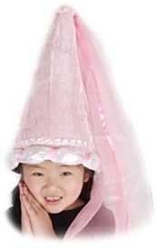 Kid's Pink Princess Hat at theBIGzoo.com