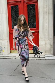 Time for Fashion » Wedding Guest Style: Kimono