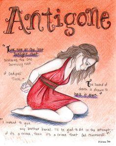 Antigone's Tragedy by coleslawari.deviantart.com on @deviantART