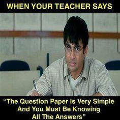 58 Ideas Funny School Memes Paper For 2019 Memes Humor, Exams Memes, Exams Funny, Exam Quotes Funny, Funny Jokes In Hindi, Funny School Memes, Jokes Pics, Some Funny Jokes, Really Funny Memes