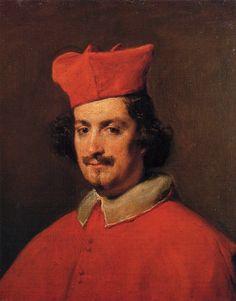 Portrait of Cardinal Camillo Astali Pamphili, 1650 - Diego Velazquez Diego Velazquez, John The Evangelist, Pictures Of Christ, Italian Paintings, Portraits, Portrait Paintings, Spanish Artists, Art Database, Caravaggio