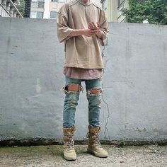 #YEEZY SEASON 2 CREPE BOOTS!! _____________________ Dope Outfit Shot Courtesy of @about.chu!! __ - fashionshxts