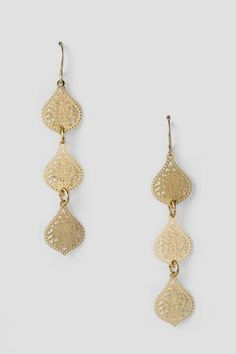 Valentina Filigree Drop Chandelier Earring- Francesca\'s- $22.00 ...