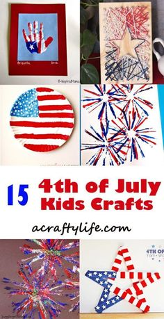 4cb7002d6a July 4th Kids Crafts – Celebrate Red White and Blue
