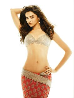 Deepika Padukone flaunts her midriff. #Style #Bollywood #Fashion #Beauty
