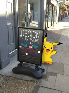 Fletcher Ward Design: Creative Design, Great Artwork… and Pokemon?