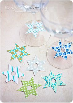 another easy to do craft that can add a nice charm to any party or gathering :)
