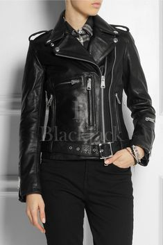 Women's Leather Jackets | Black Jack Leathers – Men's & Women's Clothing Store | Black Jack Leathers Womens Black Leather Jacket, Best Leather Jackets, Womens Clothing Stores, Clothes For Women, Women's Clothing, Alexander Mcqueen Bracelet, Sheep Leather, J Brand Jeans, Jack Black