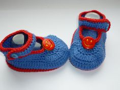 Smile Crochet Baby Shoes Crochet Baby Booties от Knittingparadize
