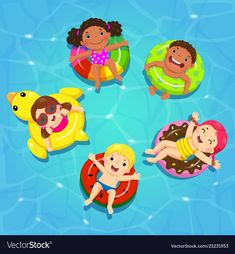 Find Top View Vector Kids Floating On stock images in HD and millions of other royalty-free stock photos, illustrations and vectors in the Shutterstock collection. Thousands of new, high-quality pictures added every day.