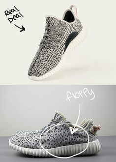 How to Spot Fake Yeezy Boost 350s | ModaMob