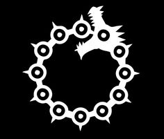 """The Seven Deadly Sins - The Dragon Sin of Wrath (White)"""" Travel ..."""