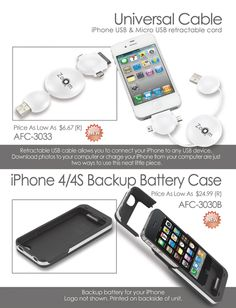 iPhone Accessories.  If you are interested email me wendy@liteam.com
