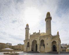 Taza Pir #Mosque #Baku #Azerbaijan. A sunrise dream and my photographer walk in Azerbaijan. #DemipressAserbaidschan #MeinAserbaidschan