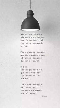 Music Quotes, Me Quotes, Qoutes, Space Quotes, Quotes En Espanol, Love Phrases, Sad Love, Love Poems, Spanish Quotes