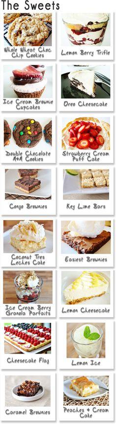 BBQ Dessert Ideas bbq makeamenu, bbq dessert, summer parties, summer desserts, dessert ideas, summer bbq, summer cookout, sweet desserts, dessert appet