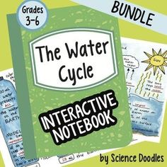 This bundle is all about the Water Cycle! This FREEBIE is a good example of what is in my BUNDLED units. Unit Bundle Includes: The Water Cycle Foldable for an interactive notebook The Water Cycle Notes Foldable for an interactive notebook All the Water