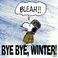 bye bye winter!!