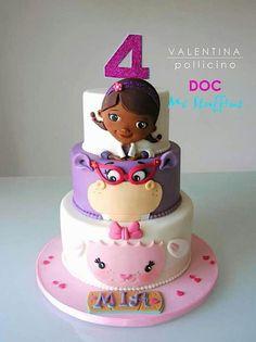 Cake Wrecks - Home - Sunday Sweets: Kids Cartoons! Birthday Cake Girls, 3rd Birthday Parties, 4th Birthday, Frozen Birthday, Birthday Ideas, Doc Mcstuffins Birthday Cake, Doc Mcstuffins Cupcakes, Cake Wrecks, Disney Cakes