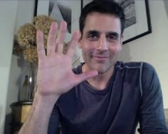 More of BEN during his video chat ❤️❤️❤️ Ben Bass, Rookie Blue