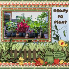 Ready To Plant       Does Your Garden Grow? by Dae Designs  http://scrapbird.com/designers-c-73/d-j-c-73_515/daedesigns-c-73_515_444/how-does-your-garden-grow-by-dae-designs-p-18017.html  A Bluebird Mix & Match kit, on sale for a limited time.  The font is Gluten regular.