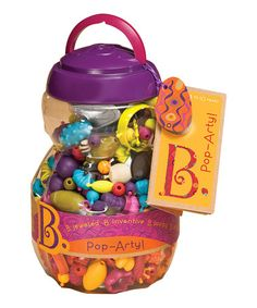 Another great find on #zulily! Pop-Arty Bead Set by Battat #zulilyfinds