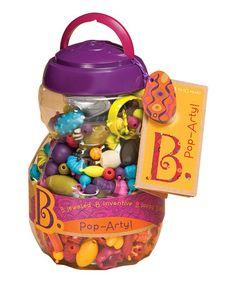 Look at this #zulilyfind! Pop-Arty Bead Set by B. Toys #zulilyfinds