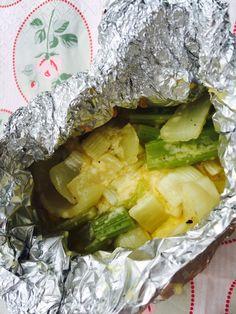 Groente Op De Barbecue Is Een Groot Succes Smoor De Groente In Pakketjes Met Verse