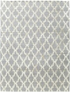 Riad Silver Himalayan wool and silk {rugs, carpets, modern, home collection, decor, residential, commercial, hospitality, warp & weft}