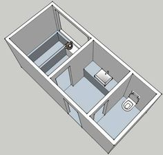 History and design of the bathroom part 6 learning from for 5x6 bathroom layout
