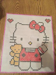Cot Sheets, Pixel Pattern, Elsa, Tapestry Crochet, C2c, Hello Kitty, Cross Stitch, Kids Rugs, Embroidery