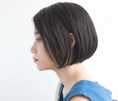 ストレートボブ100選☆オトナ女子の魅力を楽しむ人気ヘアスタイル集♪ | folk (2ページ) Short Hairstyles For Women, Pretty Hairstyles, Girl Hairstyles, Braided Hairstyles, Balayage Brunette, Balayage Hair, Cabello Hair, Great Hair, Hair Dos