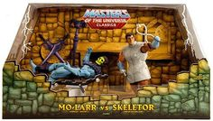 Mattel HeMan Masters of the Universe Classics SDCC 2010 San Diego ComicCon Exclusive Action Figure 2Pack MoLarr Skeletor