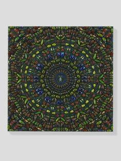 Entomology paintings by Damien Hirst - Typhon, 2012.