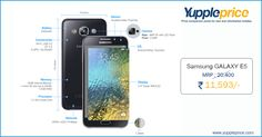 Best price for #SamsungGalaxy E5 in India @ YupplePrice! #samsungmobiles