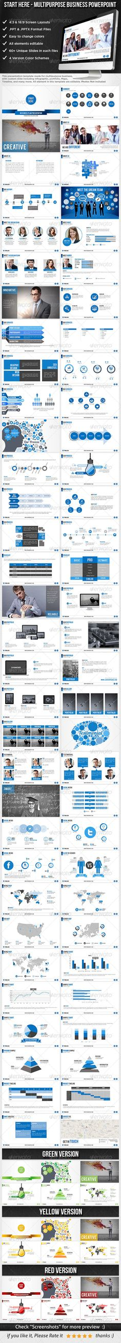 Start Here - Multipurpose Business Template