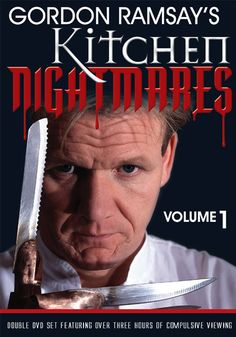 Gordon Ramsay`s Kitchen Nightmares: Volume 1 Rancid scallops, arrogant head chefs and dangerously dirty kitchens… these are just some of the horrors awaiting celebrated master chef Gordon Ramsay as he tries to rescue restaurants in crisis using tough love, elbow grease and his colourful use of the English language.