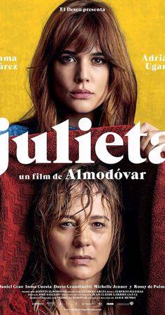 Directed by Pedro Almodóvar.  With Emma Suárez, Adriana Ugarte, Daniel Grao, Inma Cuesta. After a casual encounter, a brokenhearted woman decides to confront her life and the most important events about her stranded daughter.
