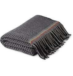 Paul Smith Shoes & AccessoriesPatterned Cashmere and Wool-Blend Blanket