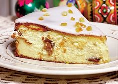 pasca glazurata Romanian Desserts, Cooking Bread, Vegan Cheesecake, Pastry And Bakery, Fabulous Foods, Easter Recipes, I Foods, Vanilla Cake, Nutella