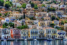 VISIT GREECE| Symi also transliterated #Syme or #Simi is a picturesque Greek island. It is mountainous and includes the harbor town of Symi and its adjacent upper town Ano Symi! http://www.visitgreece.gr/en/greek_islands/dodecanese/symi_more_than_words_can_say