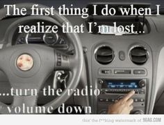 HA! I totally do this. Also when I am about to arrive at someone's house, or park.