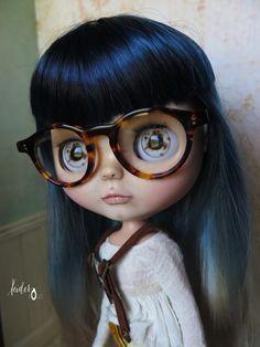 "OOAK custom blythe doll-art doll ""Matixa"" by Xeiderdolls"