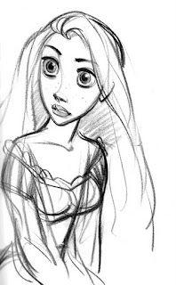 Rapunzel by Glen Keane