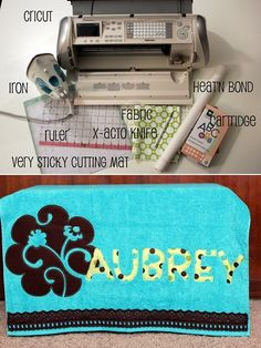Cutting Fabric Applique Shapes Using a Cricut #sewing #tip