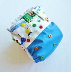 Snap or Velcro The Very Hungry Caterpillar by GreenBeansDiapers